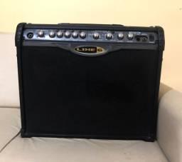 Vendo amplificador de guitarra LINE 6 (spider II), de 75 watts. Acompanha estabilizador.