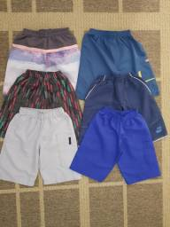Bermudas, tactell, criança, coloridas, praia, Club, piscina,  lote, infantil, roupas