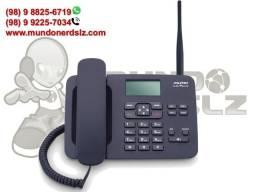 Telefone Rural Quadriband 2G Dual Sim Preto Aquário CA-42s em São Luís Ma