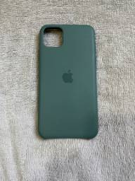 Case IPhone - 2 Case Couro 1 de silicone iPhone 11 Pro max Apple