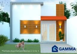 Casa na zona leste financiavel com 2 quartos sendo 1 suíte