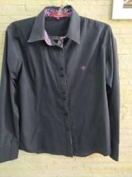Camisa feminina Dudalina tamanho 44