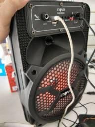 Caixa de som Amplificada Bluetooth. Ótima para passeios.