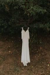 Título do anúncio: Vestido casamento longo PP/P
