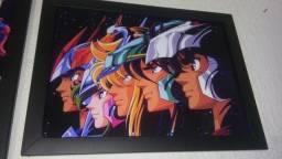 Cavaleiros dos Zodíaco - Quadro