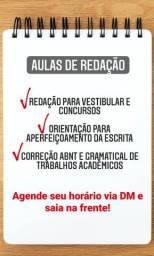 Aulas de Redação / Revisão de Texto / Formatação ABNT
