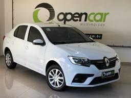 Título do anúncio: Renault Logan Life 1.0 Único dono + Smart Nav 7