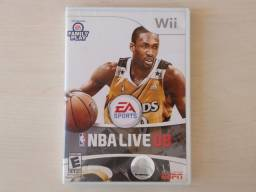 NBA live 08 Nintendo Wii jogo game dvd original basquete EA sports