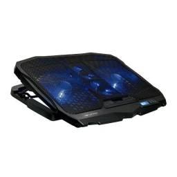 Base para Notebook 17'' C3 Tech / NBC-100BK / Suporte - Novo