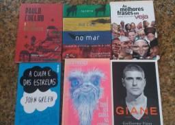 Kit 6 livros A Culpa é das Estrelas /O Livro dos Manuais(Paulo Coelho)+4 Livros