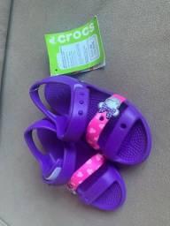 Crocs feminino infantil