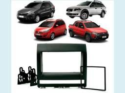 Moldura 2 Din Para Multimídia MP5 DVD Players Vários Modelos de Carros A Partir R$ 30