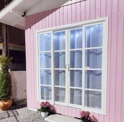 """VENDO loja """"casinha de boneca """" de madeira pinus tratado"""