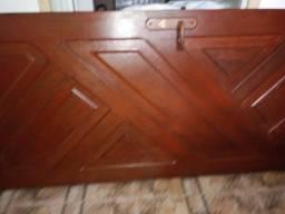 Porta madeira maciça com fechadura e dobradiças!