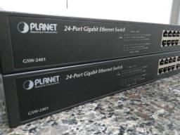 Switch Planet 24 Portas Gigabit Gsw-2401