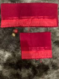 Jogo de toalha
