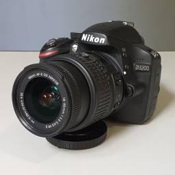 Nikon D3200 + Lente 18-55mm + 16Gb + Bolsa