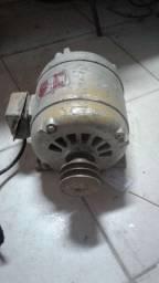 Motor trifásico 3cv weg baixa rotação com a polia
