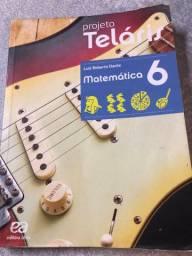 Livro didático de matemática 6 ano- projeto teláris