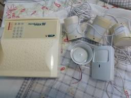 Central AGL 04 interfones novos, 16 usados e central de alarme com acessórios
