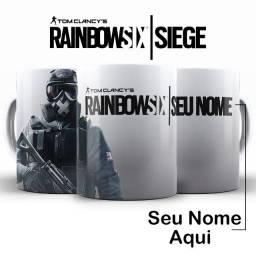 Jogos Tom Clancy's Rainbow Six Siege Warcraft Call Of Duty Canecas com todos os Temas