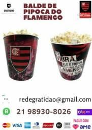 Balde pra pipoca do Flamengo Pronta entrega