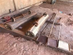 Porta de aço (Completa)