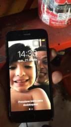 iPhone 7 sem pega o chip é não pode formata