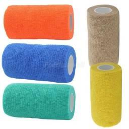 Bandagem Elástica Flexível Para Pet 4,5 X 10cm