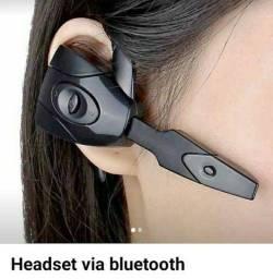 Headset via Bluetooth