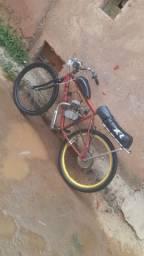 Vendo bicicleta motorizada, bike motorizada nova