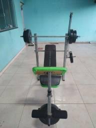 Estação de treino musculação