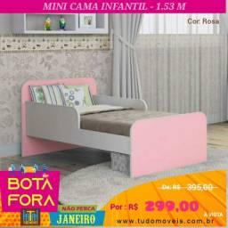 BOTA FORA JANEIRO / CAMA INFANTIL INOCÊNCIA