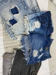 Peças Jeans 8 ITENS