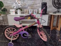 Bicicleta dora aventureira