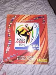 Álbum da copa do Mundo de 2010(parecelo 5x)