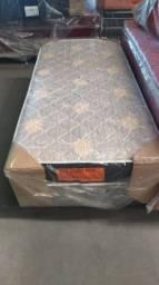 CAMA BOX SOLTEIRO DE ESPUMA