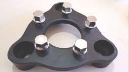 Kit Adaptadores de Roda 3x150mm (Corcel, Pampa, Del Rey) para 5x114,3mm - com parafusos