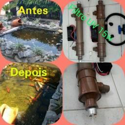 Fabricação de filtro uv 15w.