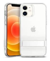 Capa Transparente Anti Impacto Esr Metal Kickstand iPhone 12 / 12 Pro 6.1