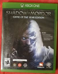 Jogo Shadow of Mordor mídia física xbox one