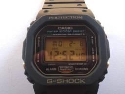 Casio G-shock Dw-5600 Dw 5600 Fundo Rosca Ouro Modulo 691
