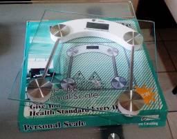 Balança Digital Vidro Temperado 180kg (Entrega Grátis)