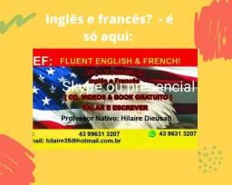 Aulas de inglês e francês? É só aqui mesmo!