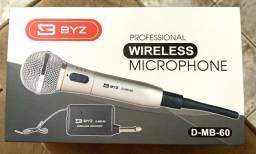 Microfone sem Fio BYZ D-MB60