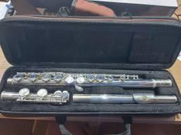 Flauta transversal Eagle prata FL 03S