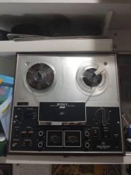 Gravador de rolo Sony tc - 377