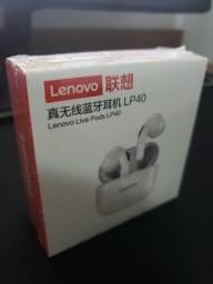 Fone Bluetooth Lenovo LP40 Livepods Airpods