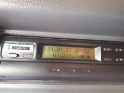 Scania G380 2009 com carreta guerra 2009