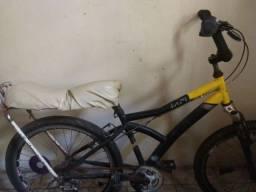 Bicicleta aro 24  com banco